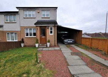 Thumbnail 3 bedroom semi-detached house for sale in 95 Mary Stevenson Drive, Alloa FK102Bq, UK