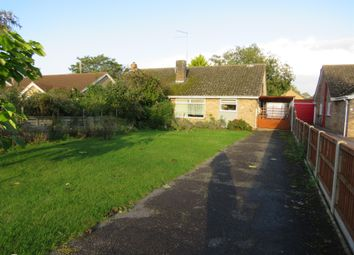 Thumbnail 3 bed semi-detached bungalow for sale in Tuckers Nook, Maxey, Peterborough