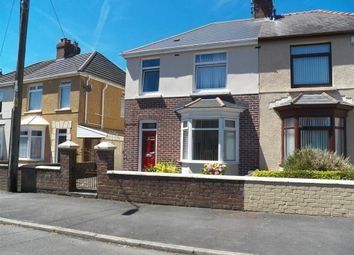 Thumbnail 3 bedroom semi-detached house for sale in Coedcae Road, Llanelli