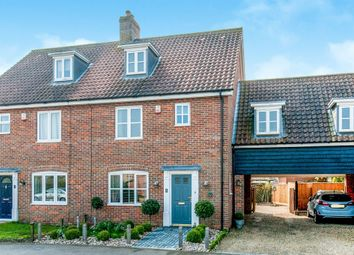 Thumbnail 4 bed link-detached house for sale in Ash Plough, Stradbroke, Eye