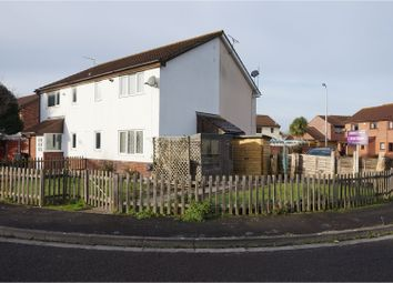 Thumbnail 1 bed end terrace house for sale in Saxby Close, Weston Super Mare