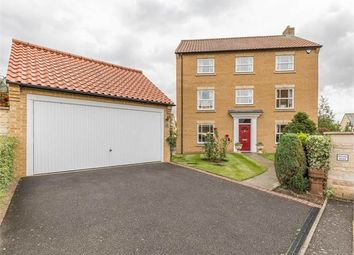 Thumbnail 5 bed detached house for sale in Gwash Close, Ryhall, Stamford, Lincolnshire