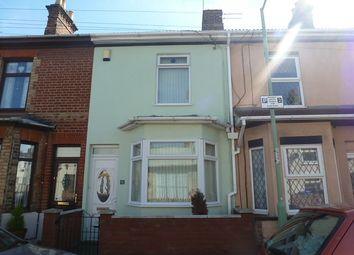 Thumbnail 2 bedroom terraced house to rent in Cathcart Street, Lowestoft