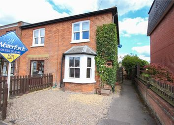 Thumbnail 3 bedroom semi-detached house for sale in Albert Street, Fleet