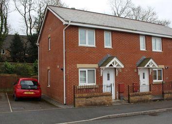 Thumbnail 2 bed end terrace house to rent in Llwyn Teg, Fforestfach, Swansea