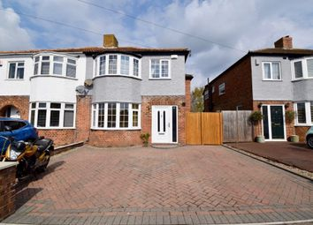 Thumbnail 4 bed semi-detached house for sale in Foreland Avenue, Folkestone, Kent