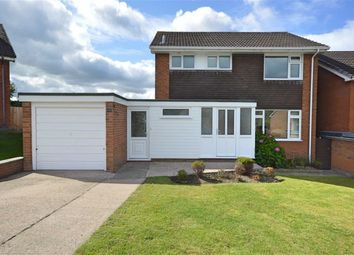 Thumbnail 3 bed detached house for sale in 14, Poplar Road, Barnfields, Newtown, Powys