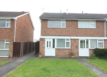 Thumbnail 2 bed town house for sale in Coppice Walk, Hinckley