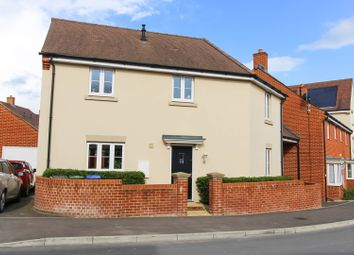 Thumbnail 3 bed detached house for sale in Haragon Drive, Salisbury