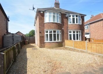 Thumbnail 3 bed semi-detached house for sale in Caverstede Road, Peterborough
