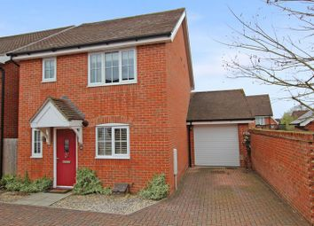 Thumbnail 3 bed detached house for sale in Wadham Close, Romsey