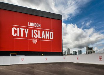 Thumbnail Studio for sale in London City Island, Docklands