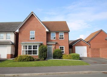 Thumbnail 4 bed detached house for sale in Uffington Place, Westbury, Wiltshire