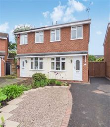 Thumbnail 2 bed semi-detached house for sale in Conway Close, Crewe