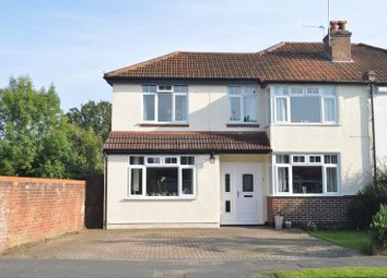 Thumbnail 3 bed semi-detached house for sale in Woodfield Close, Ashtead