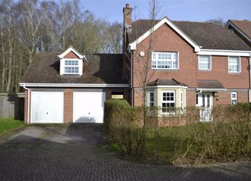 Thumbnail 6 bed detached house for sale in Pinewood Crescent, Hermitage, Berkshire