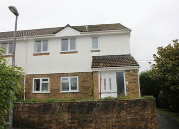 Thumbnail 2 bed flat for sale in Trevarrick Road, St. Austell