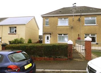Thumbnail 2 bed semi-detached house for sale in Coronation Street, Bryn, Port Talbot, West Glamorgan