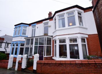 Thumbnail 4 bed semi-detached house for sale in Onslow Road, Wallasey, Merseyside