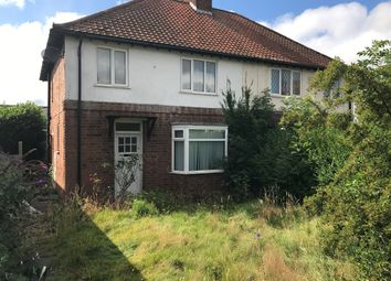 Thumbnail 3 bed semi-detached house for sale in Grosvenor Crescent, Oadby, Leicester