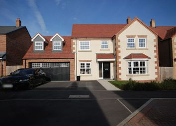 Thumbnail 4 bed detached house for sale in Cherry Close, Morpeth