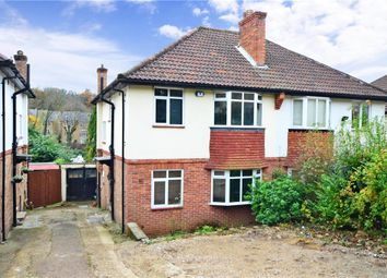 Thumbnail 3 bed semi-detached house for sale in Garston Gardens, Kenley, Surrey