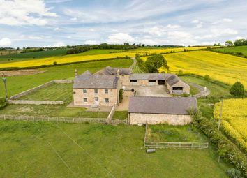 Thumbnail 4 bed farmhouse for sale in Newton Fell Farmhouse, Newton, Stocksfield, Northumberland