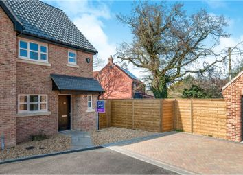Thumbnail 2 bed semi-detached house for sale in Plot 6 Mill Stone Green, East Wretham, Thetford