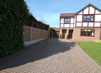 Thumbnail 4 bed detached house for sale in Okehampton Close, Radcliffe, Manchester