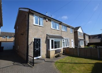 Thumbnail 3 bed semi-detached house for sale in Cherry Tree Walk, East Ardsley, Wakefield, West Yorkshire
