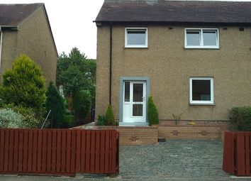 Thumbnail 3 bed semi-detached house to rent in Kippielaw Park, Dalkeith