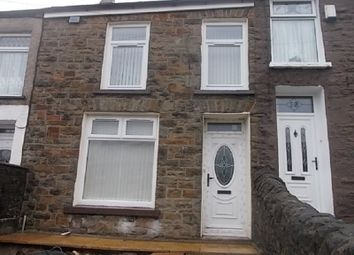 Thumbnail 3 bedroom terraced house to rent in Carne Street, Pentre, Rhondda, Cynon, Taff.