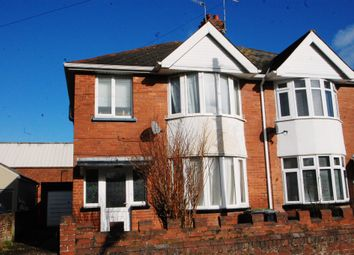 Thumbnail 3 bedroom semi-detached house for sale in Lynwood Avenue, Exeter