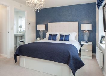 "Thumbnail 4 bed end terrace house for sale in ""Helmsley"" at Knights Way, St. Ives, Huntingdon"
