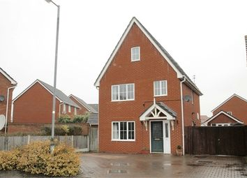 Thumbnail 4 bed town house for sale in Gavin Way, Colchester, Essex