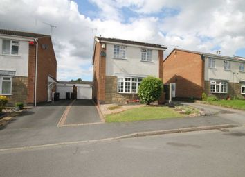 Thumbnail 3 bed detached house for sale in Bradgate Road, Markfield