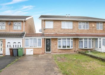 Thumbnail 3 bed semi-detached house for sale in Denmore Gardens, Eastfield, Wolverhampton