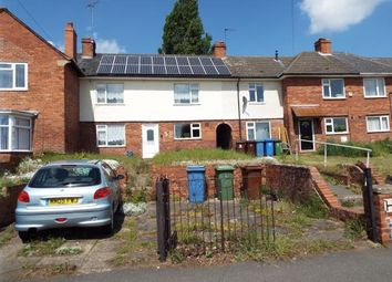Thumbnail 3 bed terraced house for sale in Wood Lane, Church Warsop, Mansfield, Nottinghamshire