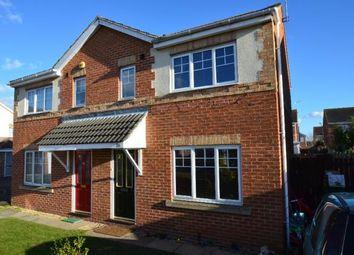 Thumbnail 3 bed semi-detached house to rent in Castle Avenue, Rossington, Doncaster