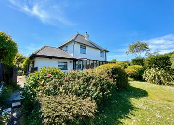Thumbnail 4 bed detached house for sale in Church Road, Wembury, Plymouth