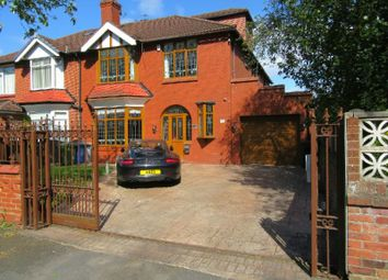 Thumbnail 5 bed semi-detached house for sale in Seymour Grove, Old Trafford, Manchester