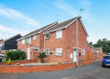Thumbnail 2 bedroom end terrace house for sale in Cunningham Close, Thetford