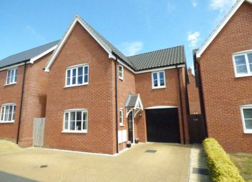 Thumbnail 3 bed detached house for sale in Sarah Rand Road, Hadleigh, Ipswich