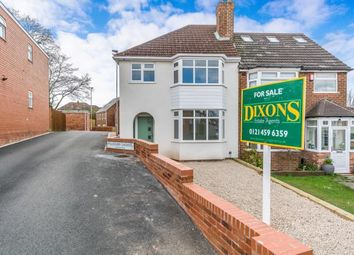 Thumbnail 3 bedroom semi-detached house for sale in Green Acres Road, Kings Norton, Birmingham, West Midlands