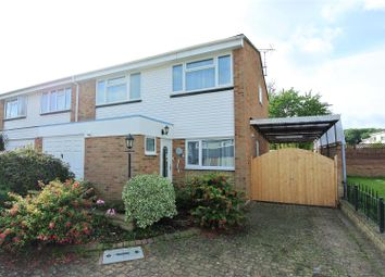 Thumbnail 4 bed semi-detached house for sale in Fleetway, Thorpe, Egham