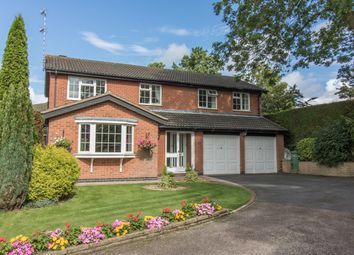 Thumbnail 4 bed detached house for sale in Craythorne Way, Wigston