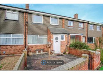 Thumbnail 3 bed terraced house to rent in Ranworth Walk, Bedford