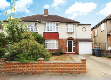 Thumbnail 4 bed semi-detached house to rent in Highdown, Old Malden, Worcester Park