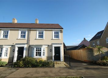 Thumbnail 3 bedroom end terrace house for sale in King Alfred Way, Great Denham, Bedford