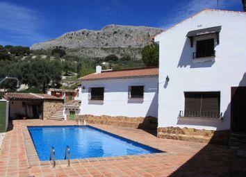 Thumbnail 9 bed country house for sale in Trabuco, Villanueva Del Trabuco, Málaga, Andalusia, Spain